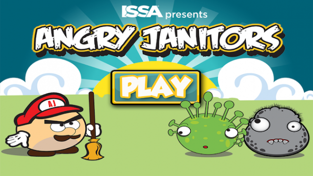 Angry Janitors the Game – Keep the Germs Away!