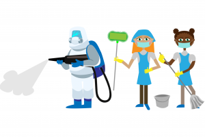 Hiring a cleaner